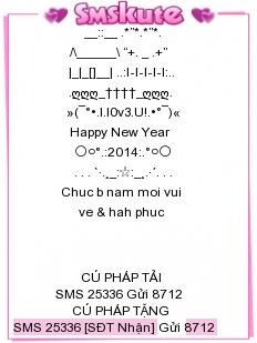 Tin Nhắn Chúc Tết 2014 Mau 1