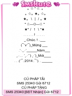 Tin Nhắn Chúc Tết 2014 Mau 2